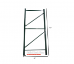 Steel King Teardrop 42″D x 192″H Upright Frame Pallet Rack Now