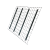 J & L Waterfall Step 42″D x 46″W Pallet Rack Wire Deck Pallet Rack Now