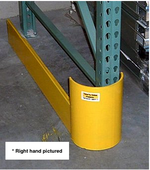 Save-Ty Yellow 42″ End of Aisle Guard – Left Side Pallet Rack Now