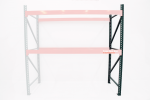 Steel King Teardrop 42″D x 120″H Pallet Rack Upright Frame Pallet Rack Now