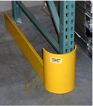 Save-Ty Yellow 42″ End of Aisle Guard – Right Side Pallet Rack Now