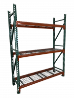 J & L Waterfall Step 30″D x 46″W Wire Deck  Pallet Rack Now