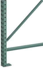 Steel King Teardrop 24″D x 120″H Pallet Rack Frame Pallet Rack Now