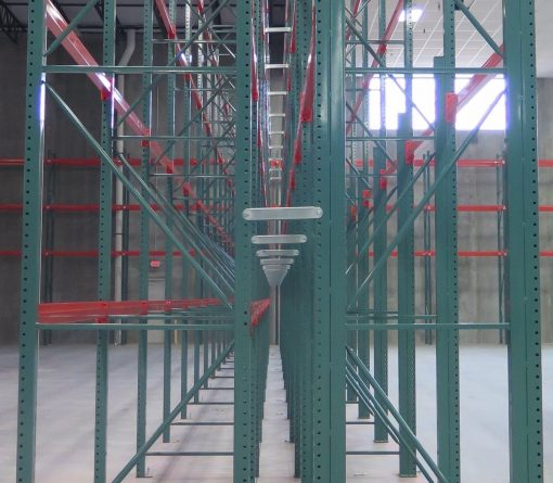 row spacer in racking