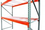 J & L Waterfall Step 30″D x 34″W Wire Deck Pallet Rack Now